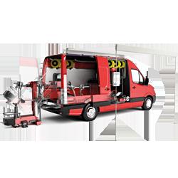 تعویض لاستیک سیار کورگی مدل : Mobile Service